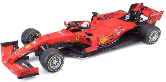 BBurago model 1:18 Ferrari Racing F1 2019 SF90 Sebastian Vettel
