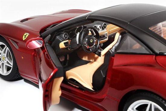 BBurago model 1:18 Ferrari Signature series California (Closed Top) czerwony