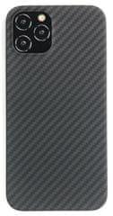 EPICO ovitek Carbon Case iPhone 12/12 Pro 15,49 cm/6,1″ 50310191300001, črni