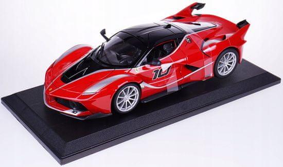 BBurago Model 1:18 Ferrari TOP FXX K czerwony
