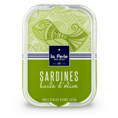 La Perle des Dieux Francouzské sardinky v extra panenském olivovém oleji 115g