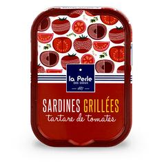 """La Perle des Dieux Grilované Francouzské sardinky v rajčatovém """"tartare"""" 115g"""