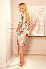 Numoco Dámske šaty 13-121, viacfarebná, XS