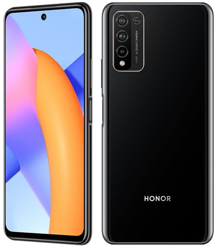 Honor 10X Lite (DNN-LX9), 4GB/128GB, Midnight black