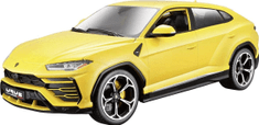 BBurago model 1:18 Plus Lamborghini Urus żółty