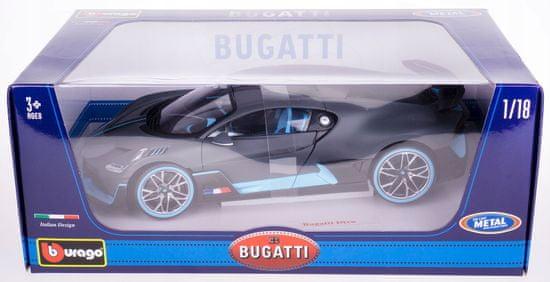 BBurago model TOP Bugatti Divo,1:18
