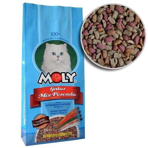 MOLY CAT FISH 29/15 20kg rybí krmivo pro kočky