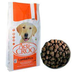 ACTI CROQ LAMB&RICE 26/12 20kg speciális táp érzékeny kutyáknak bárány rizzsel