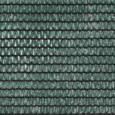 shumee Siatka ochronna do kortu tenisowego, HDPE, 1,2x50 m, zielona