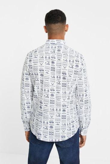 Desigual bela moška srajca Cam Tirso - M