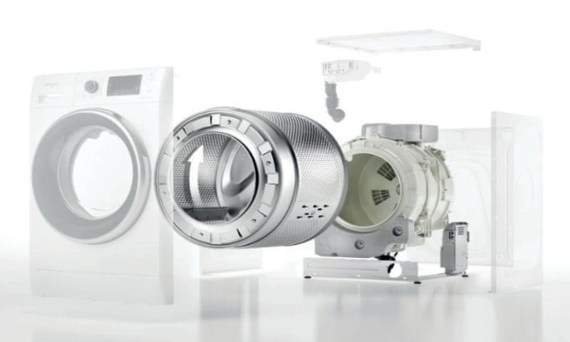 Whirlpool FFB 7438 BV EE SenseInverter motor