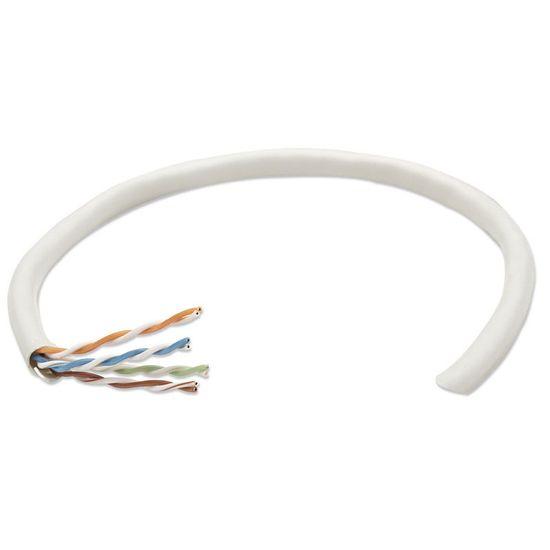Intellinet UTP mrežni inštalacijski kabel, CAT5e, 305 m, siv
