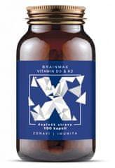 BrainMax Vitamin D3 & K2 100kapsúl