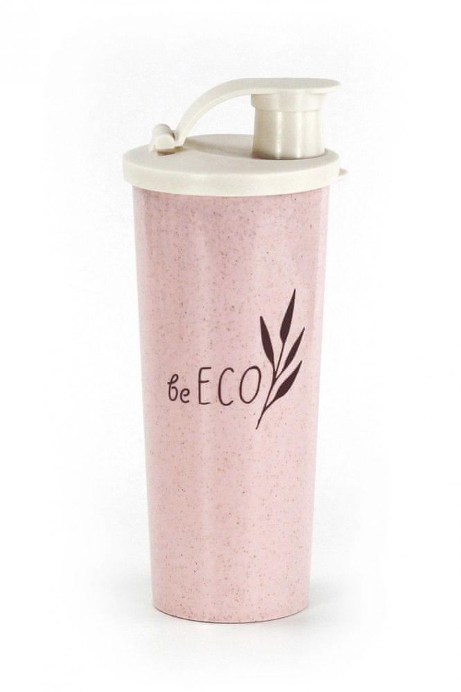 G21 Shaker G21 beECO Fitness 450 ml, růžový