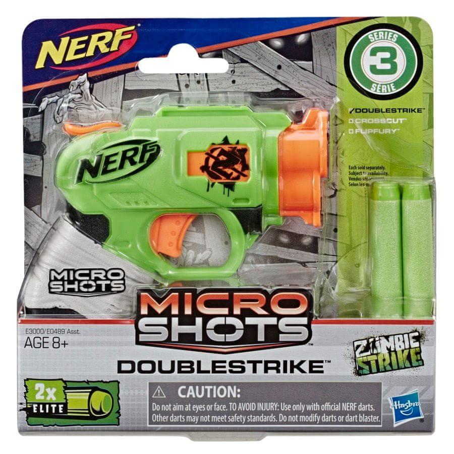 Nerf ZOMBIE Microshots Doublestrike