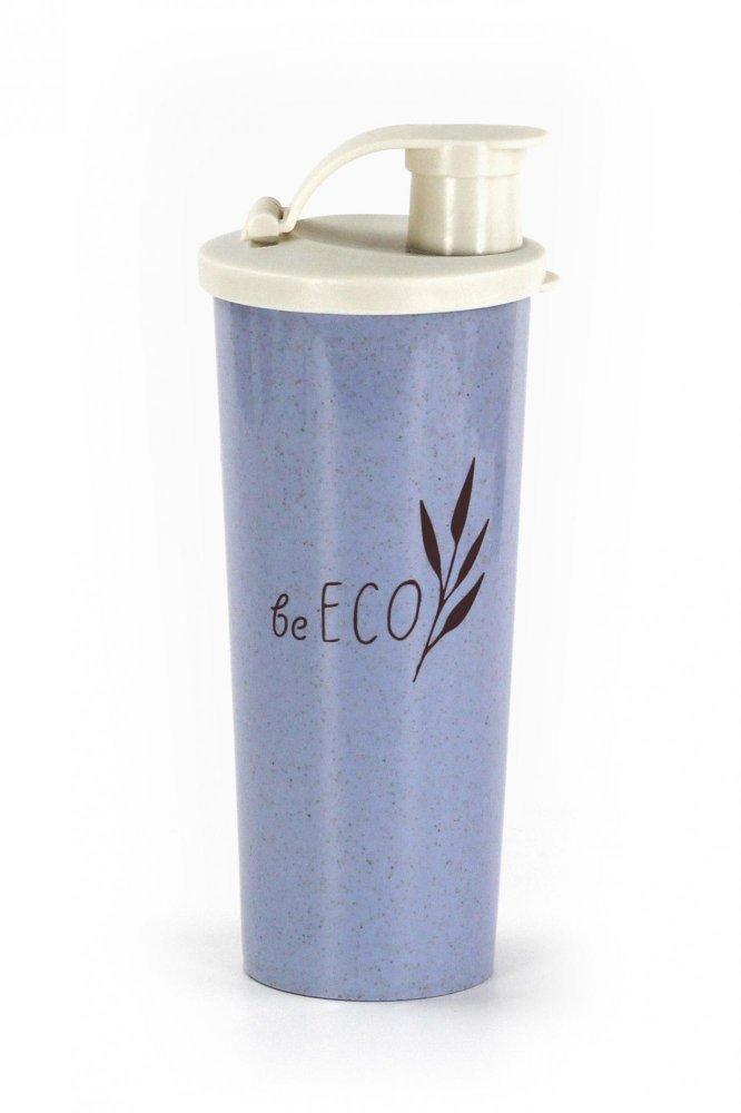 G21 Shaker G21 beECO Fitness 450 ml, modrý