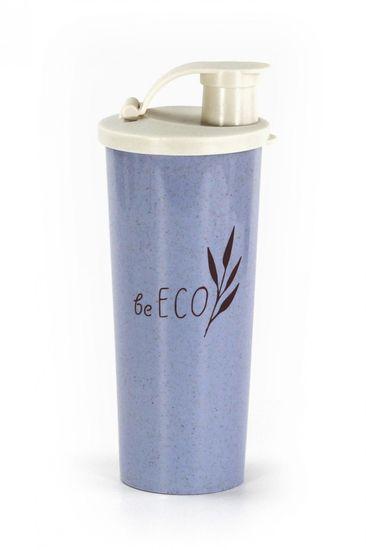 G21 Shaker G21 beECO Fitnesz 450 ml, kék