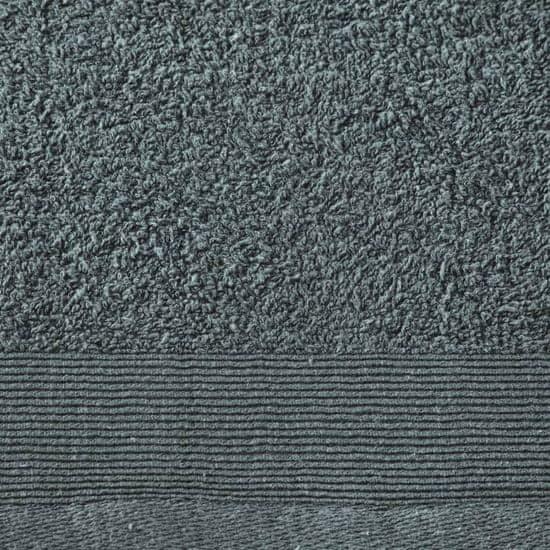 shumee Kopalne brisače 5 kosov bombaž 450 gsm 100x150 cm zelene