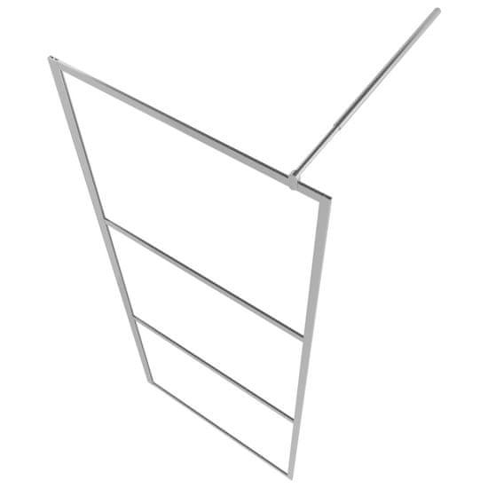 shumee Ścianka prysznicowa, mrożone szkło ESG, 140 x 195 cm