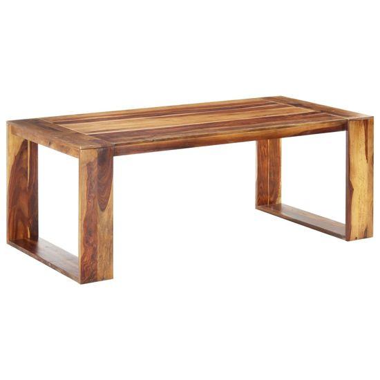 shumee Jedilna miza 200x100x76 cm trden palisander