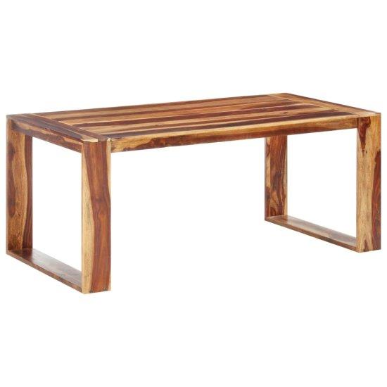 shumee Jedilna miza 180x90x76 cm trden palisander