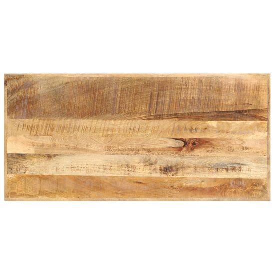 shumee Barska mizica 120x58x107 cm robusten mangov les