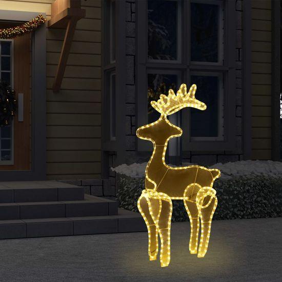 shumee rénszarvas karácsonyi dísz hálóval 306 LED-del 60 x 24 x 89 cm
