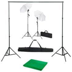 shumee Sada do fotoštúdia s pozadím, svetlami a dáždnikmi