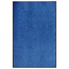 Greatstore Rohožka pratelná modrá 120 x 180 cm