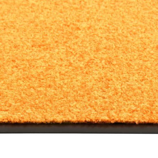 shumee Wycieraczka z możliwością prania, pomarańczowa, 120 x 180 cm