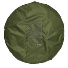 ProPlus Stan na sprchu/WC/převlékání samorozkládací polyester zelený