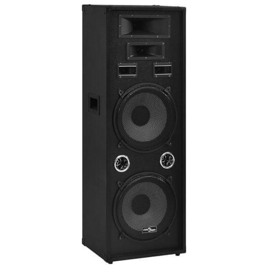 shumee fekete professzionális passzív hifi színpadi hangszóró 1000 W