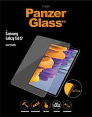 PanzerGlass Edge-to-Edge zaščitno steklo za Samsung Galaxy Tab S7, prozorno
