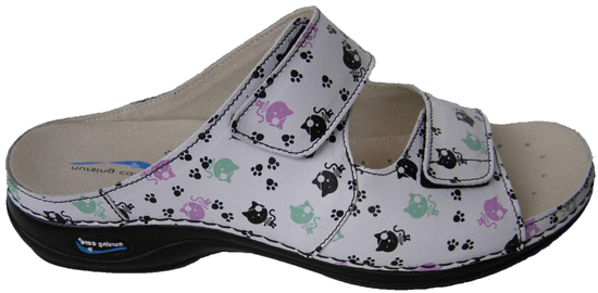 Nursing Care VIENA dámská pantofle pratelná kočky WG8F20 Nursing Care Velikost: 36