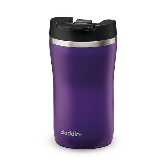 Aladdin Termo lonček Cafe Leak-Lock z vakuumsko izolacijo 0,25 l, vijoličen