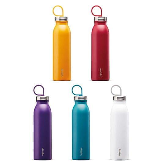 Aladdin Kovinska steklenička za vodo Chilled z vakuumsko izolacijo, vijolična