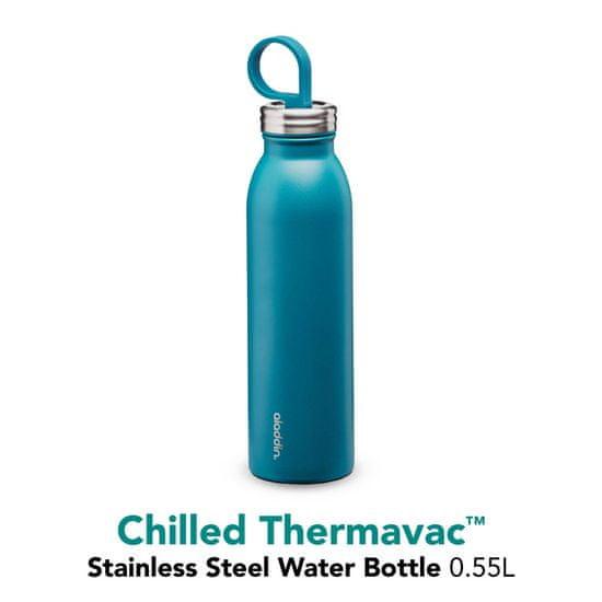 Aladdin Kovinska steklenička za vodo Chilled z vakuumsko izolacijo, modra