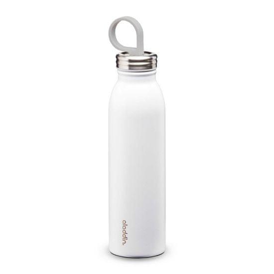 Aladdin Kovinska steklenička za vodo Chilled z vakuumsko izolacijo, bela
