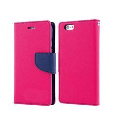 Havana Fancy Diary ovitek za Huawei Y5p, preklopni, roza-moder
