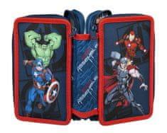 Undercover 3-poschodový peračník Avengers - 0421 AVER - viacfarebná