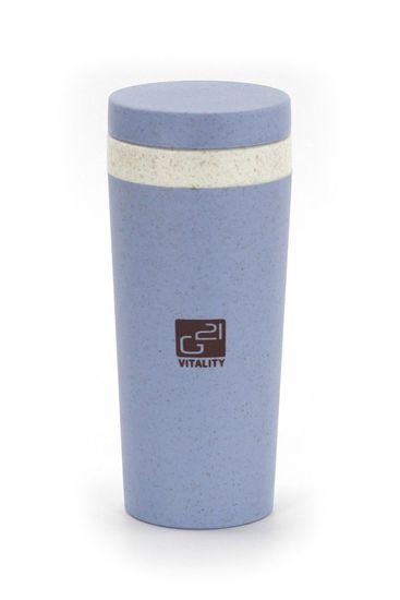 G21 eko skodelica beECO Tour, 300 ml, modra