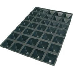 Silikomart Forma pyramidy silikonová na 35 ks