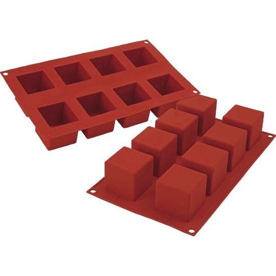 Silikomart Forma kostky silikonová Cubo na 8 ks