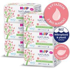 HiPP Babysanft Čistící vlhčené ubrousky Natural 6 x 2 x 60 ks