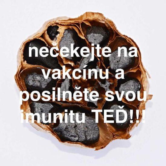 Český černý česnek Neloupané stroužky černého česneku 150g