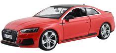BBurago Model samochodu 1:24 Plus Audi RS 5 Coupe czerwony