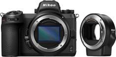 Nikon Z6II brezzrcalni fotoaparat, ohišje + FTZ adapter