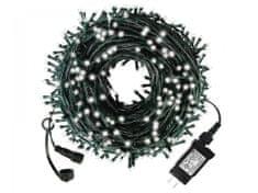 commshop Venkovní vánoční řetěz 100m (1000 LED) - Bílá