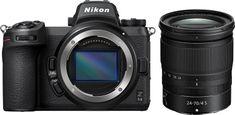 Nikon Z6II brezzrcalni fotoaparat + 24-70 F4 S objektiv