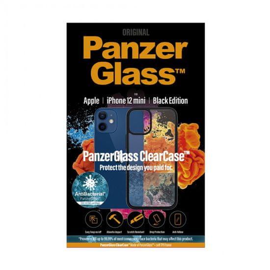 PanzerGlass ClearCase Antibacterial za ovitek Apple iPhone 13,71 cm/5,4″ Black Edition 0251